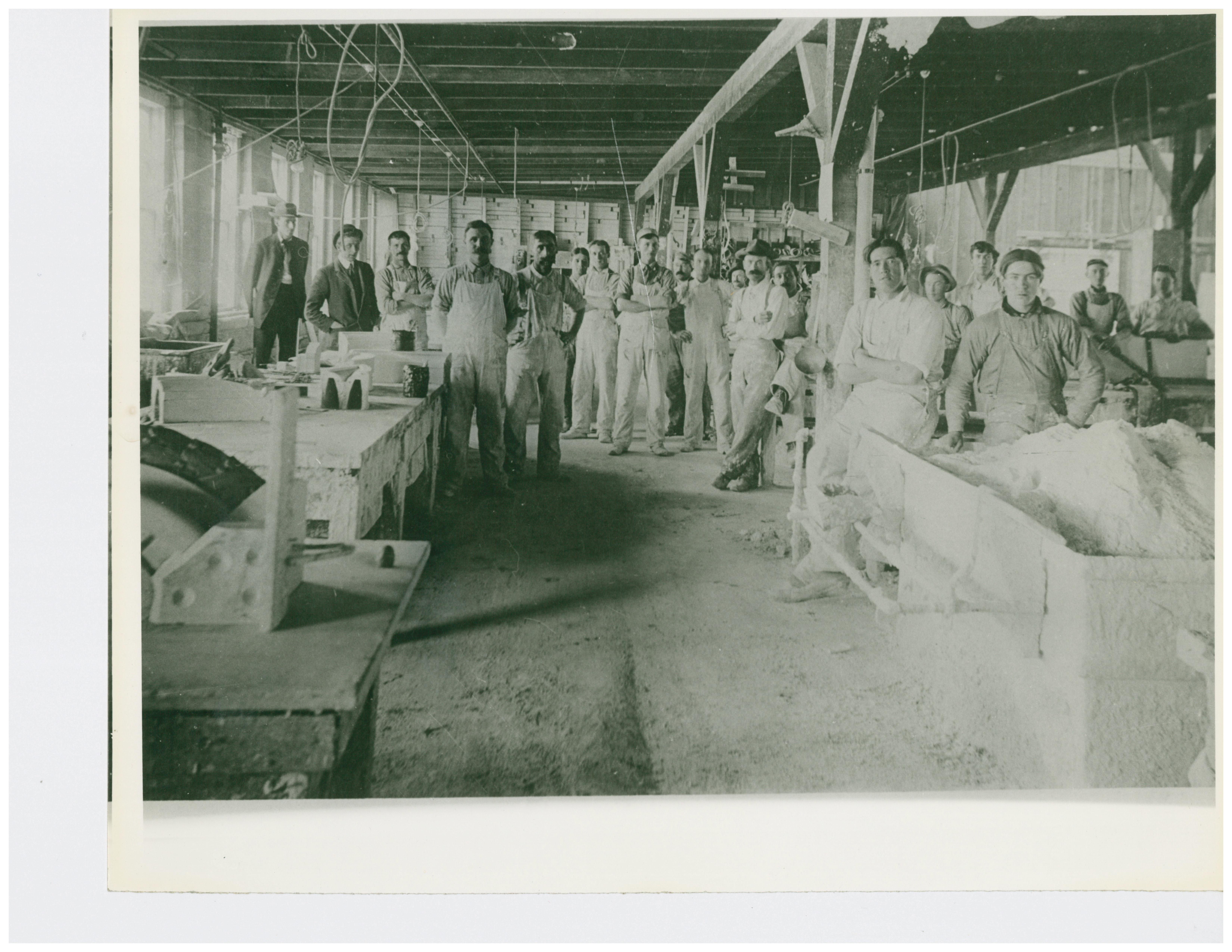 1909 Plaster Shop