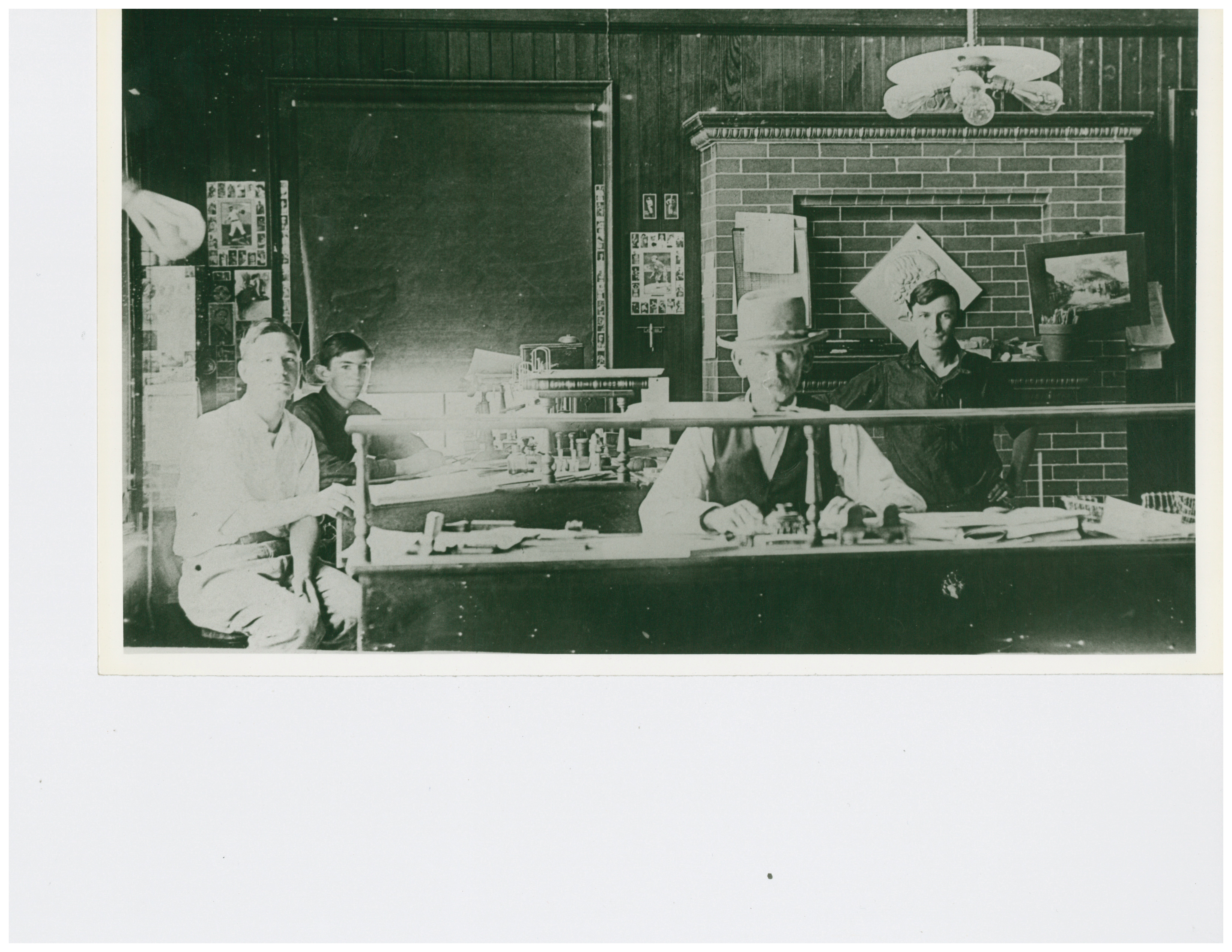 1912 Old Main Factory Officed Burned in 1918