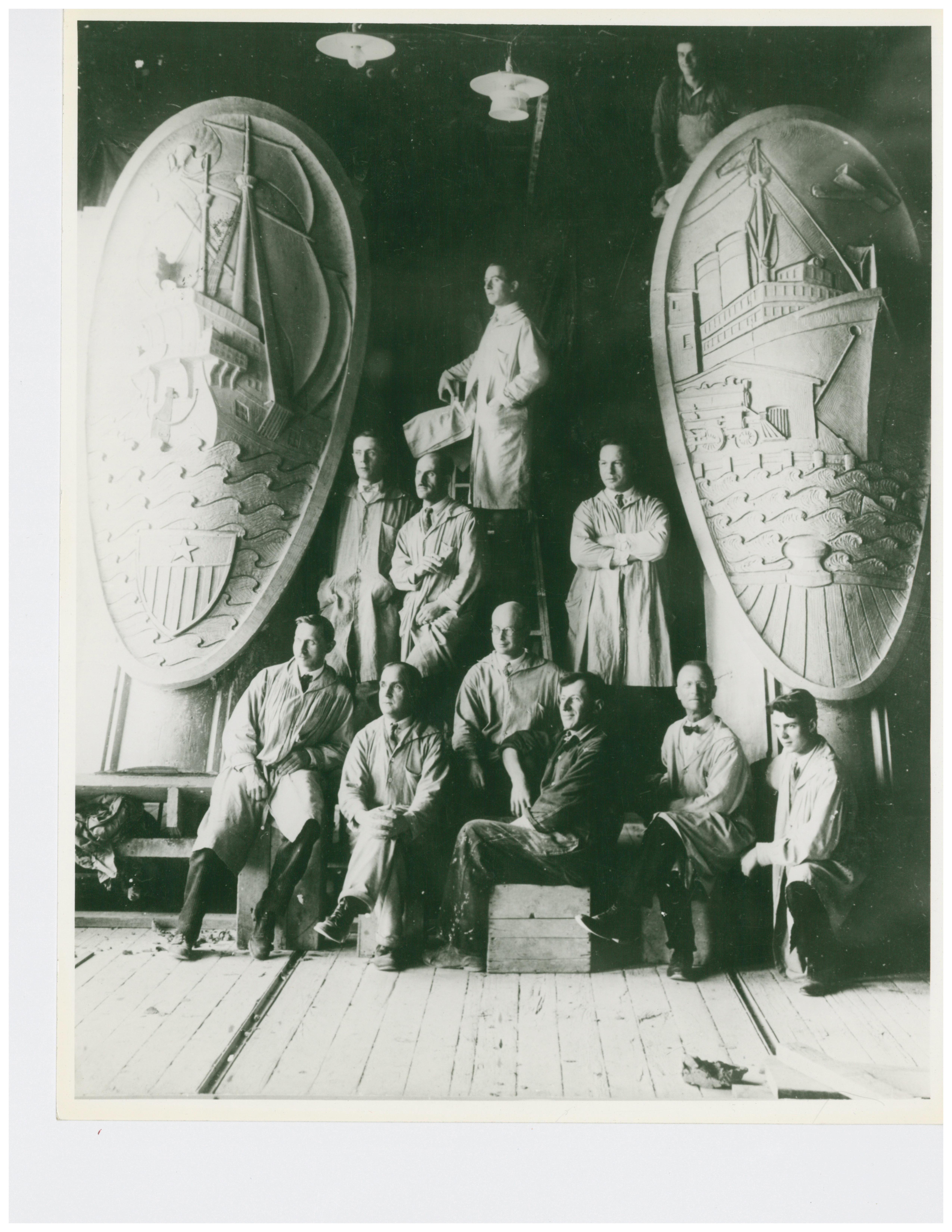 1925 Spreckles Sugar Co in San Diego