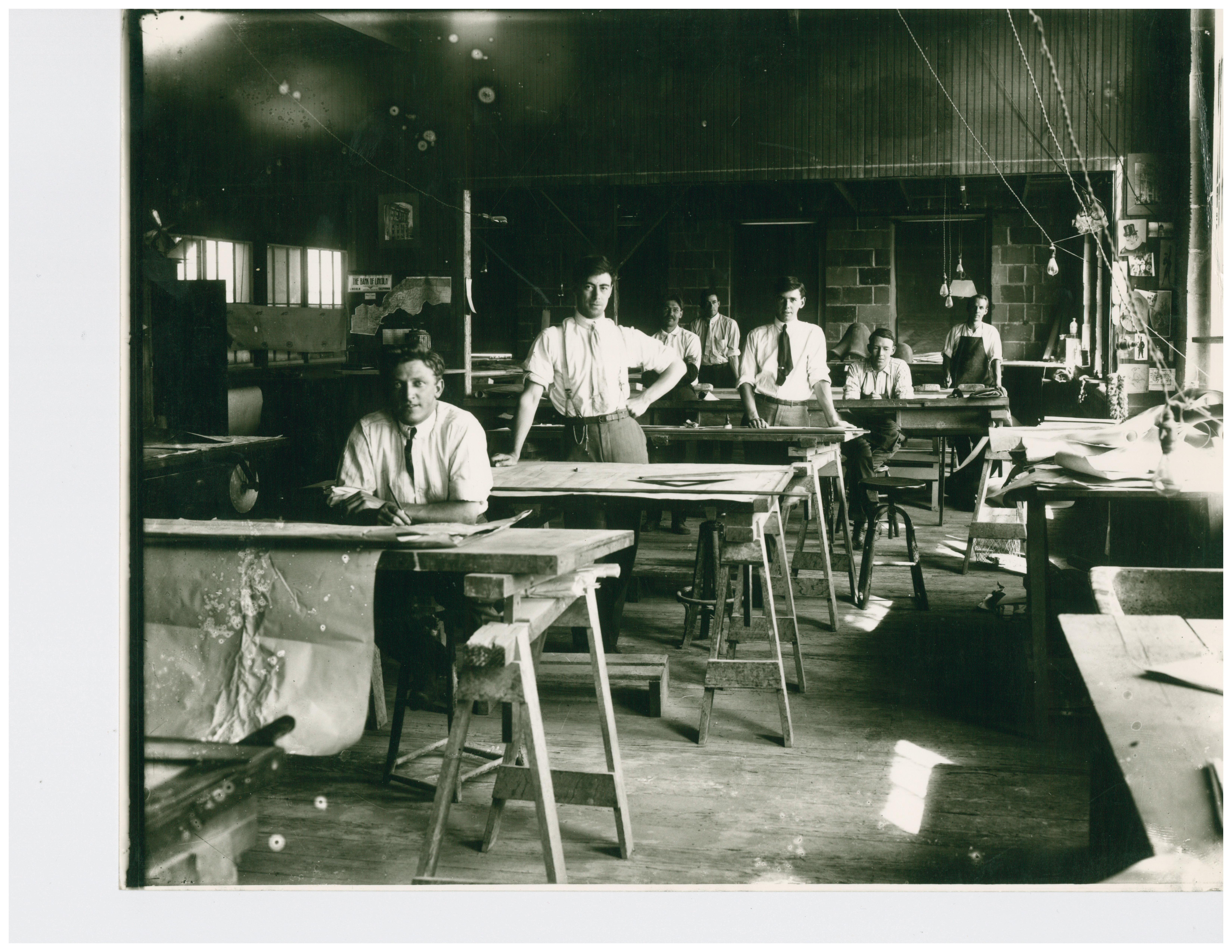 1929 Drafting Room