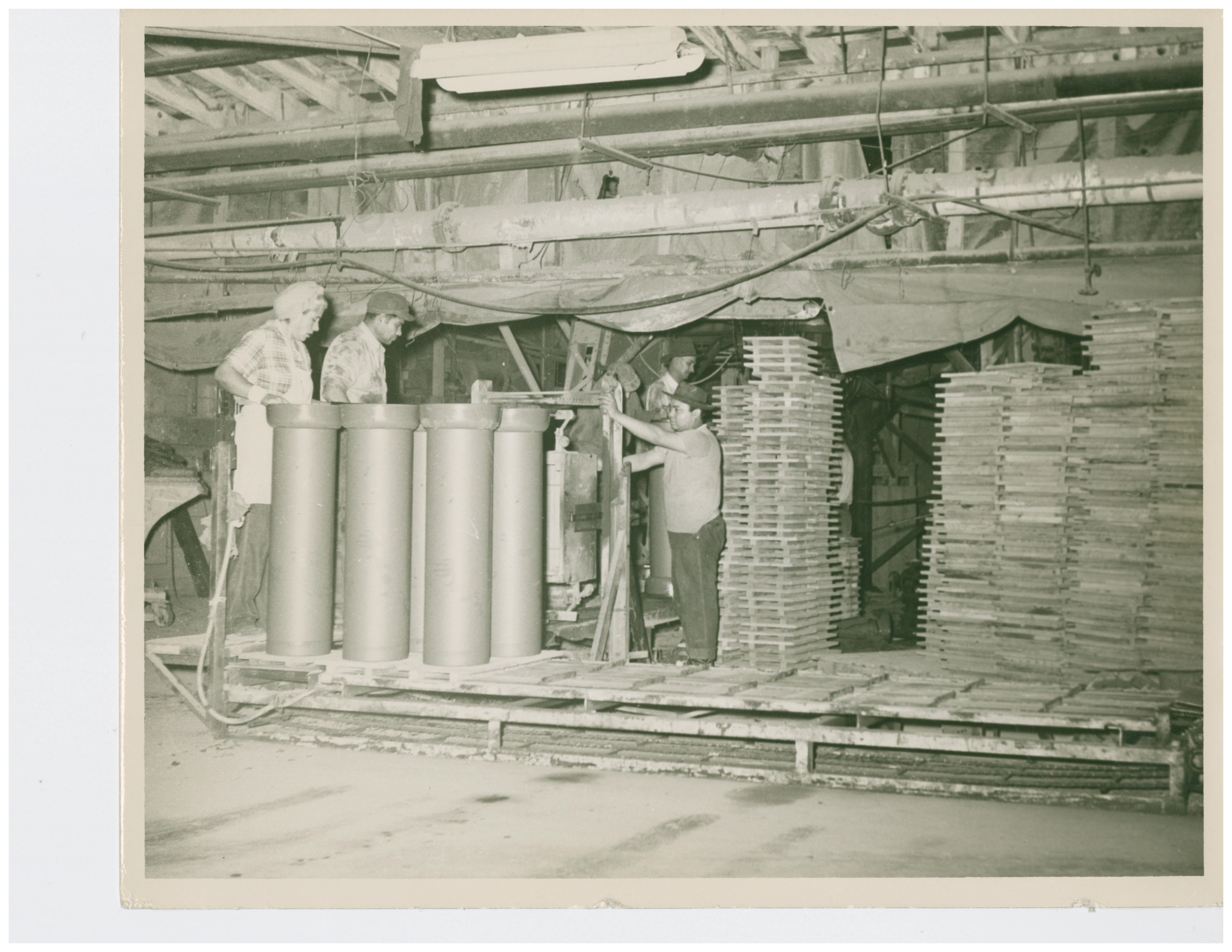 1944 Pipe Press During WW2 Women Were Employed During this time