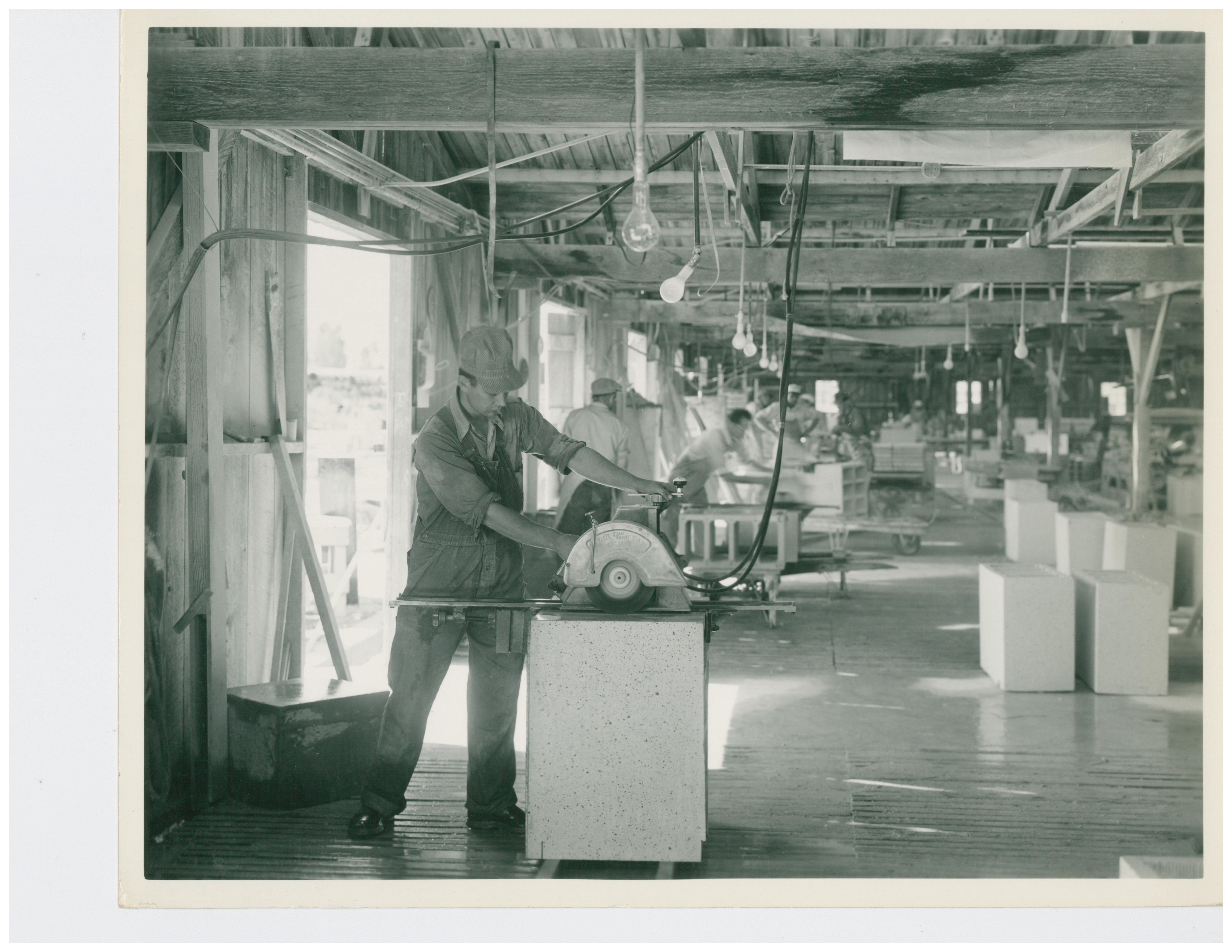 1946 Cutting Terra Cotta