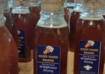Wildflower honey from Maple Rock Farm