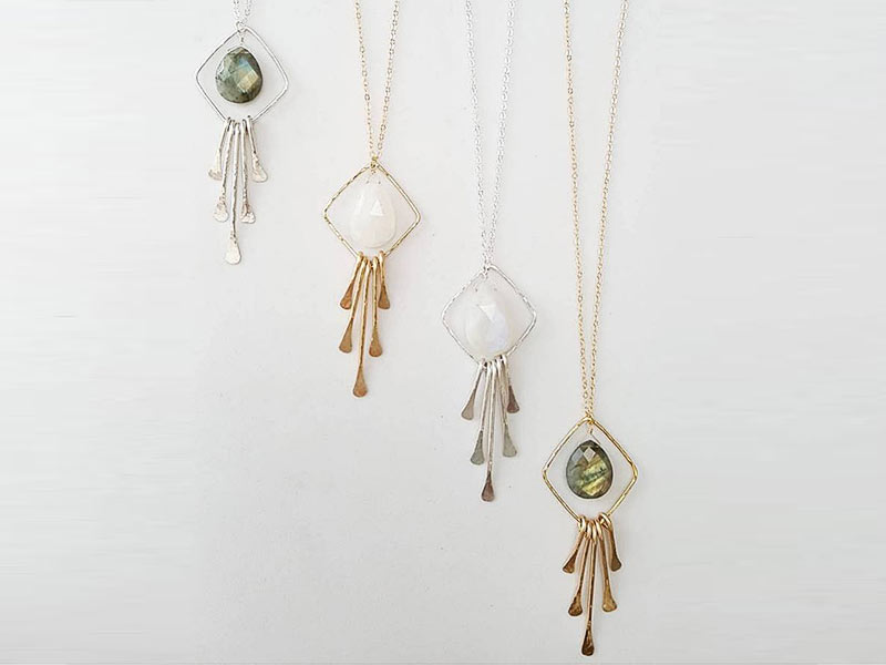 Gorgeous custom jewelry from Leo Eleven Designs