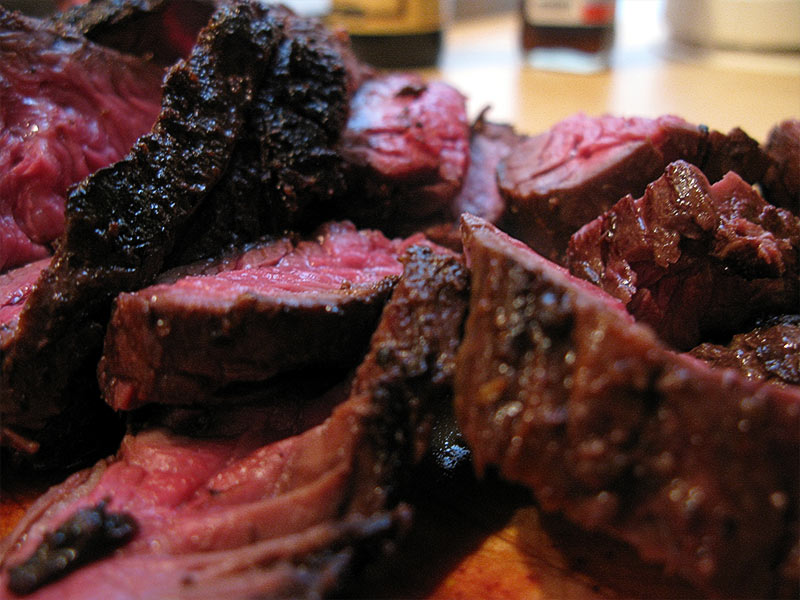 Espresso-Balsamic Grilled Flank Steak