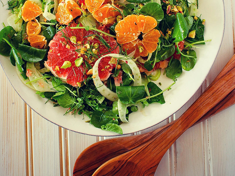 Grapefruit White Balsamic Vinaigrette