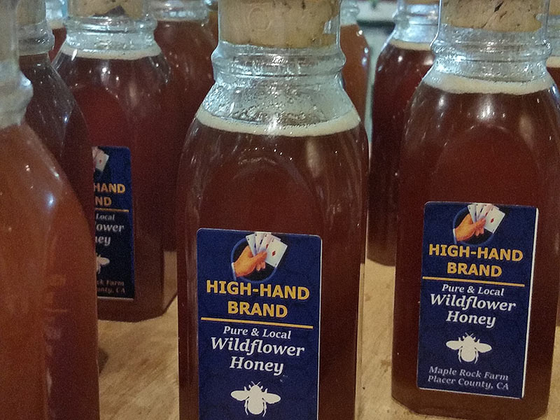 High-Hand Brand Wildflower Honey available at the High-Hand Olive Oil Company