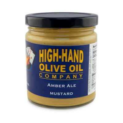 Image of a 9 oz jar of Amber Ale Mustard