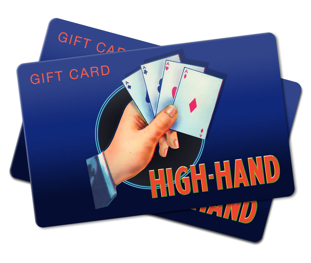 High-Hand Gift Cards
