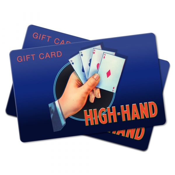 image of a stack of gift cards